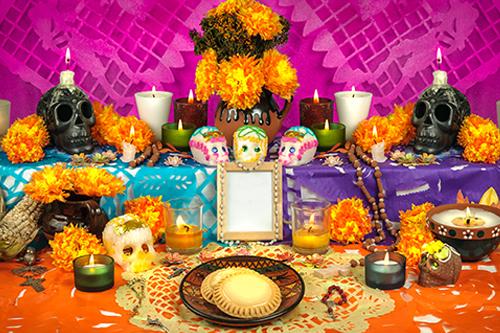 Altar de muertos: tradición sagrada