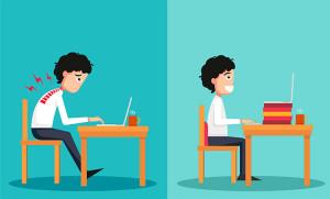 postura-en-el-escritorio