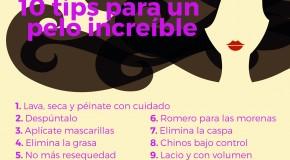10 tips para un pelo sano e increíble